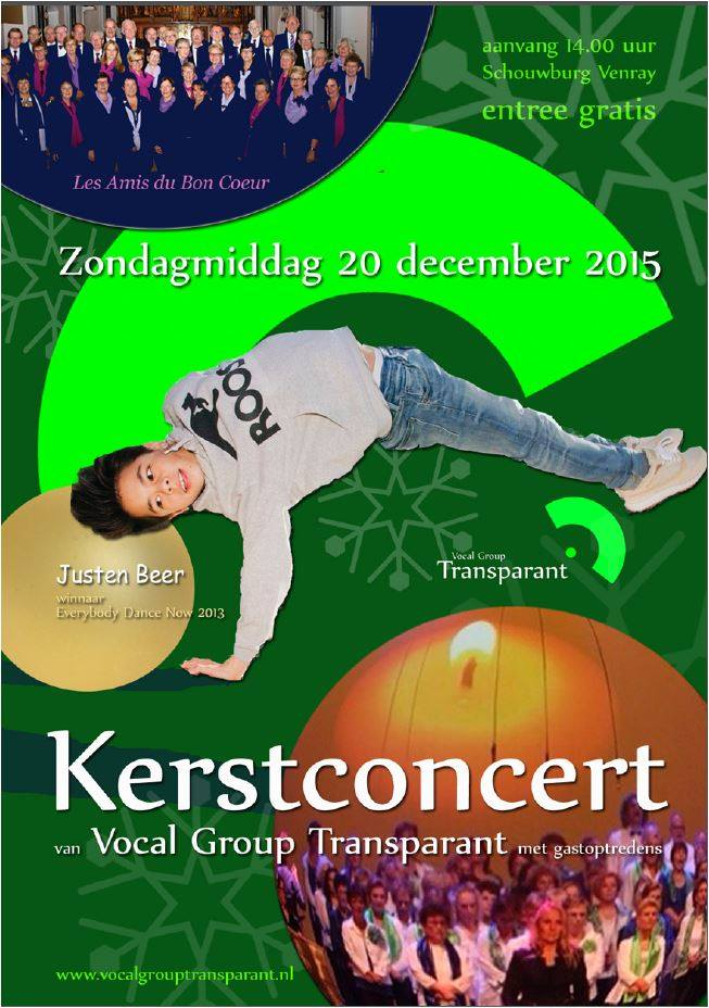 Kerstconcert 2015 Schouwburg te Venray